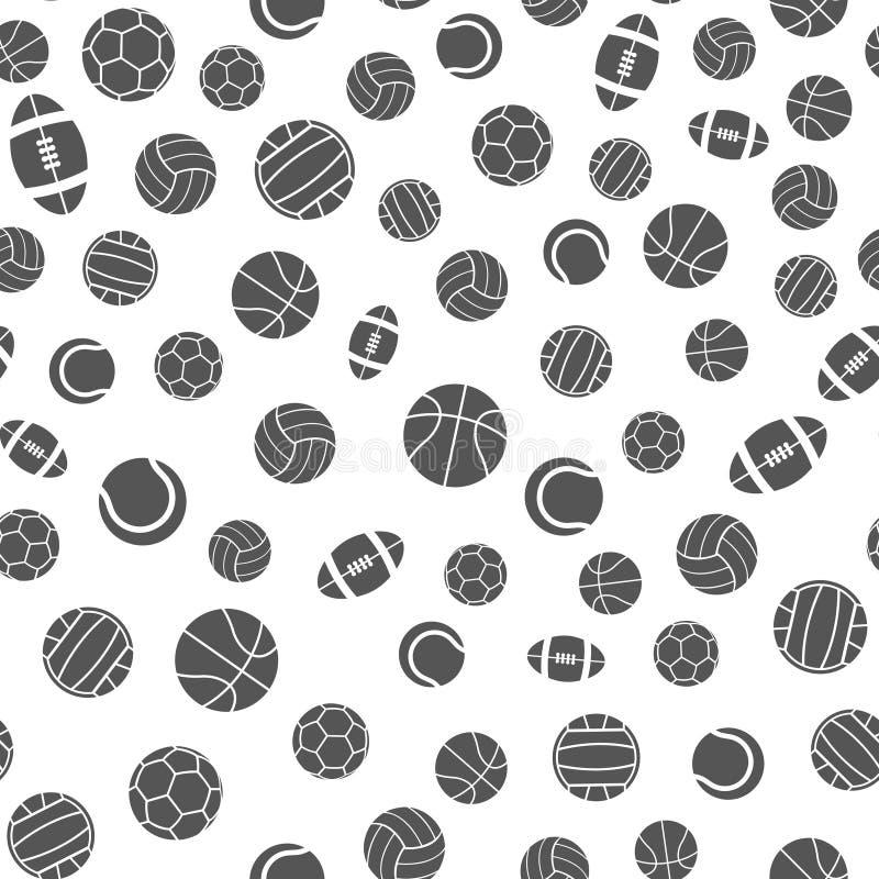 Резвит картина вектора шариков безшовная бесплатная иллюстрация