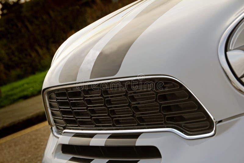 Резвит нашивки bonnet автогонок стоковые фотографии rf
