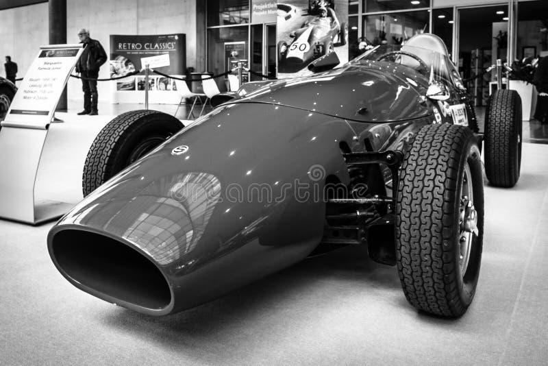 Резвит формула Младш Stanguellini гоночного автомобиля, 1958 стоковые изображения rf