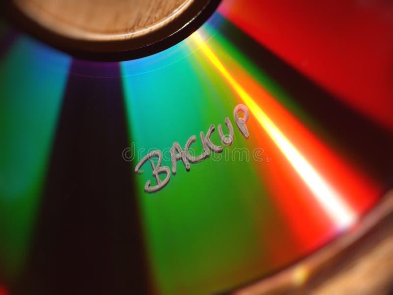 резервный cd текст стоковое изображение
