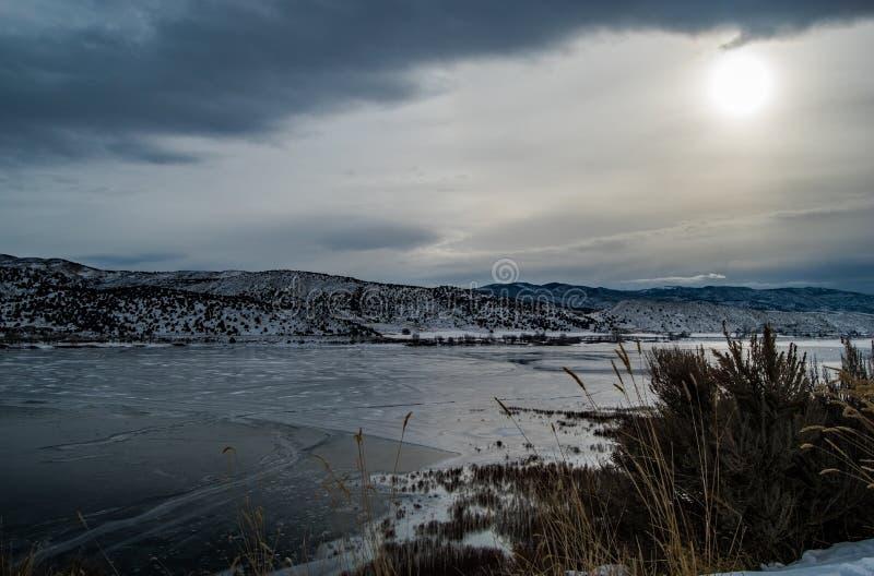 Резервуар отголоска, Юта стоковые фото