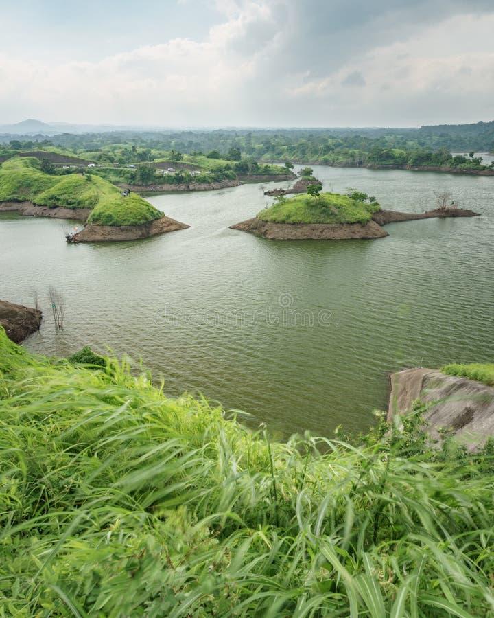 Резервуар Bajulmati в Situbondo Индонезии стоковые фото