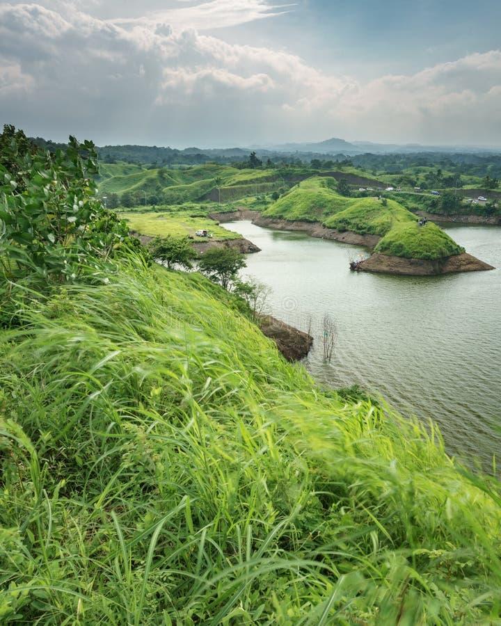 Резервуар Bajulmati в Situbondo Индонезии стоковые изображения rf