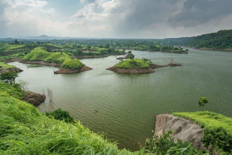 Резервуар Bajulmati в Situbondo Индонезии стоковые фотографии rf