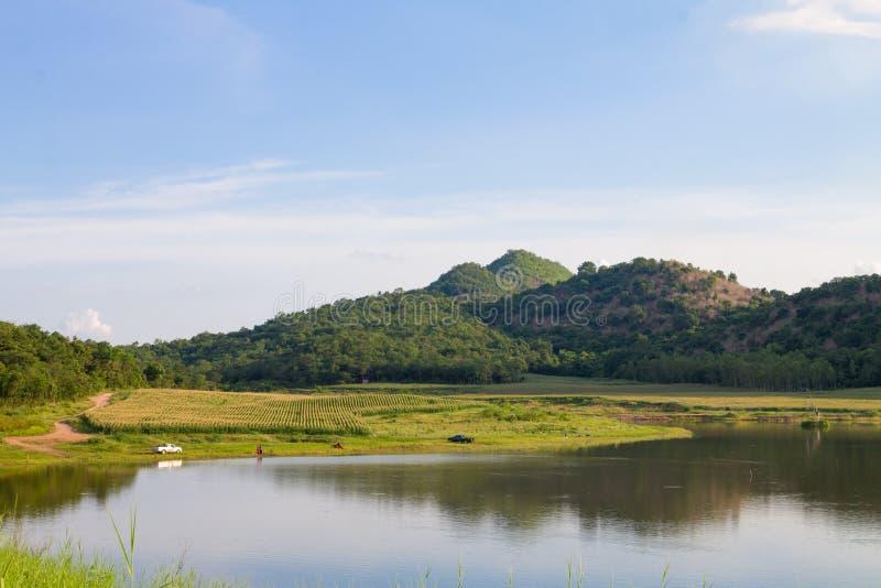 Резервуар Ekamg эпицентра деятельности, Uthai Thani Таиланд стоковые фото