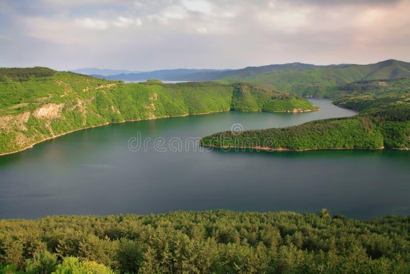 резервуар kardzhali стоковые фотографии rf