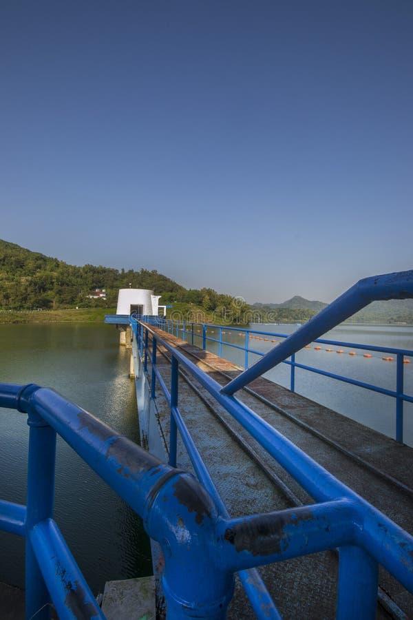 Резервуар Sermo, Jogjakarta, Индонезия стоковое фото rf