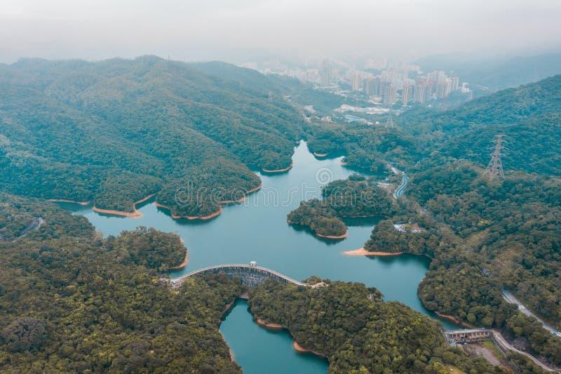 Резервуар Shing Mun, Гонконг стоковое фото