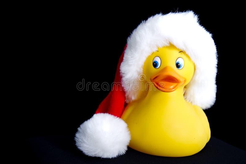 Резина Санты Ducky стоковые фото
