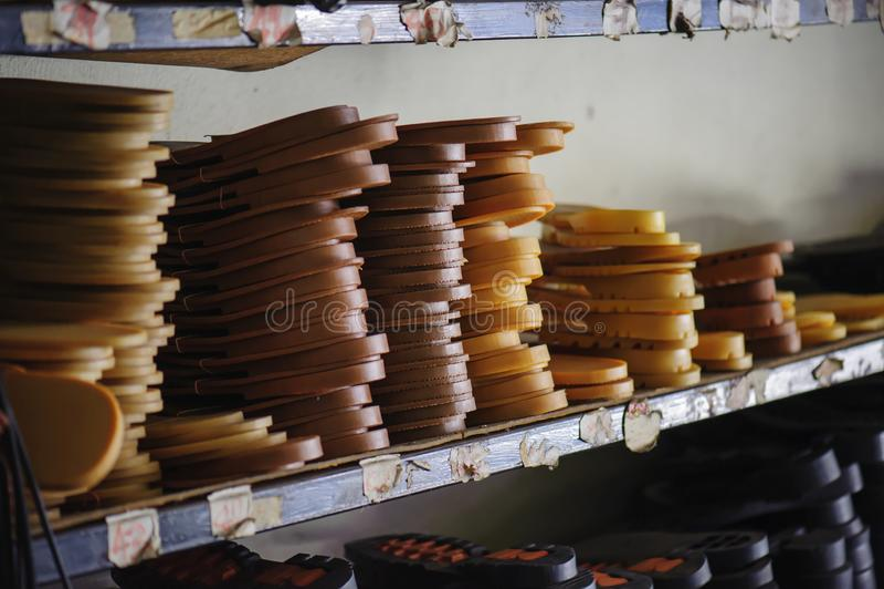 Резиновые подошвы в запасе стоковое фото rf