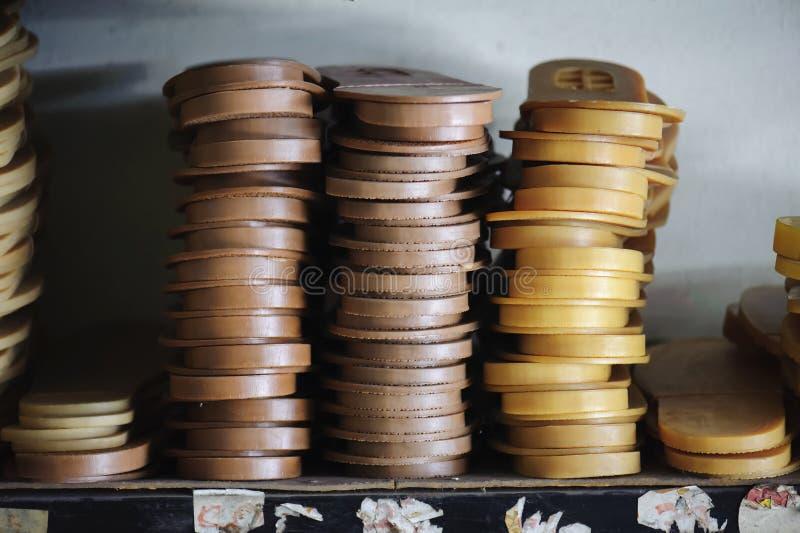 Резиновые подошвы в запасе стоковые фото
