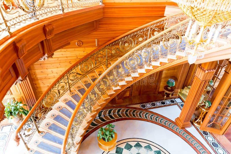 Резиденция Mezhigirya Yanukovich стоковые фотографии rf