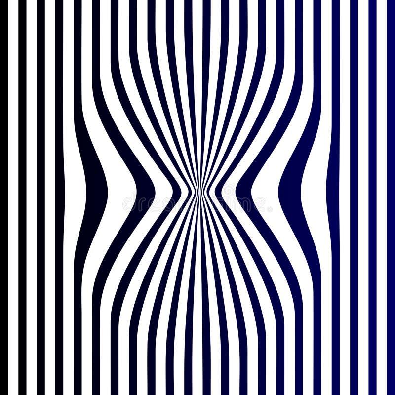 Резюмируйте для того чтобы оттолкнуть черным цветом сини военно-морского флота обнажает белую предпосылку иллюстрации вектора пре иллюстрация штока