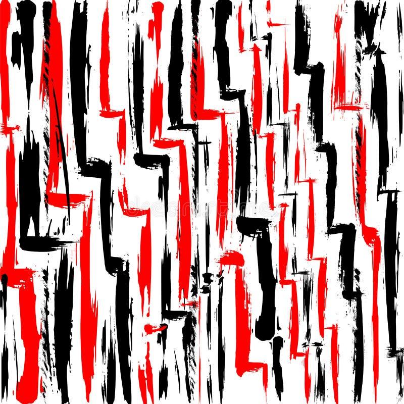 Резюмируйте предпосылку, с ходами и брызните, иллюстрация вектора