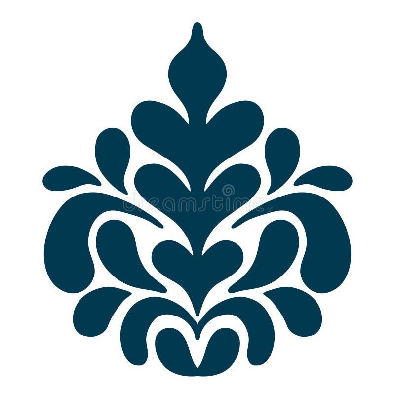 резюмируйте флористическую картину также вектор иллюстрации притяжки corel иллюстрация штока