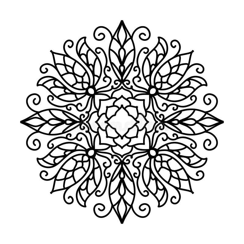 резюмируйте флористическую картину также вектор иллюстрации притяжки corel иллюстрация вектора