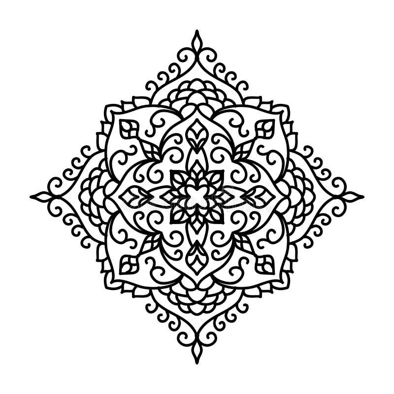 резюмируйте флористическую картину также вектор иллюстрации притяжки corel бесплатная иллюстрация
