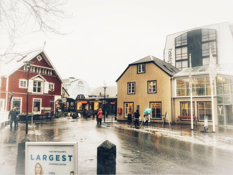 Рейкявик, Исландия стоковая фотография rf