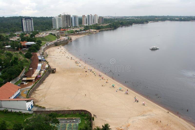 река Амазонкы Бразилии стоковая фотография rf
