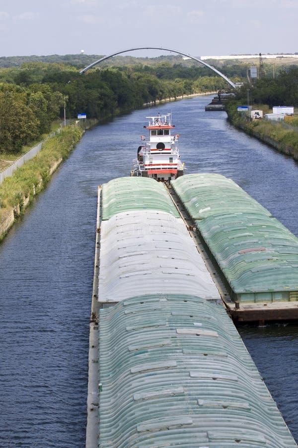 река баржи стоковые изображения rf