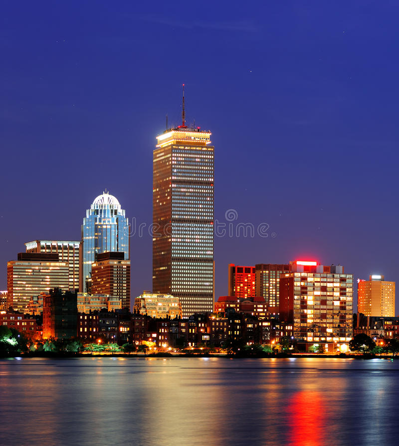 Река Бостон Charles стоковое фото