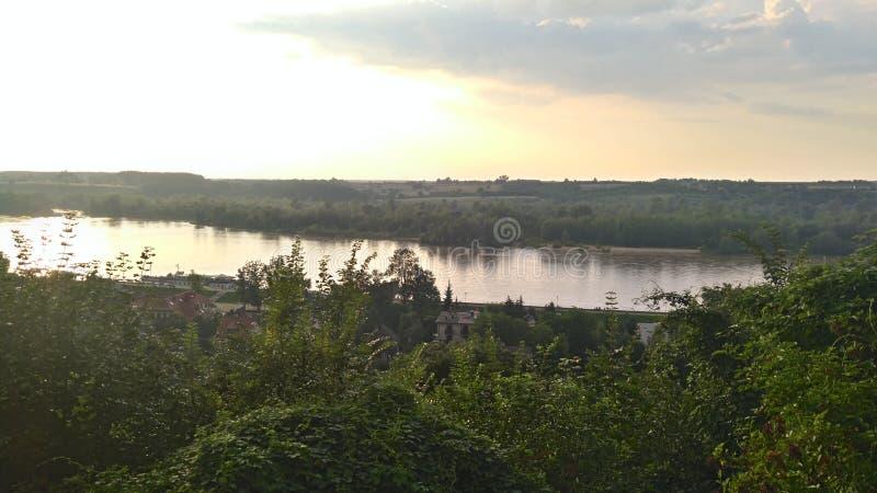 Река Висла стоковое изображение rf