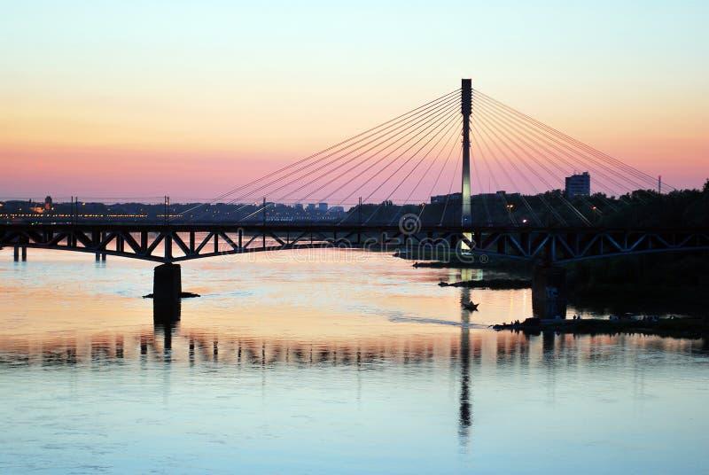 Река Висла стоковое фото rf