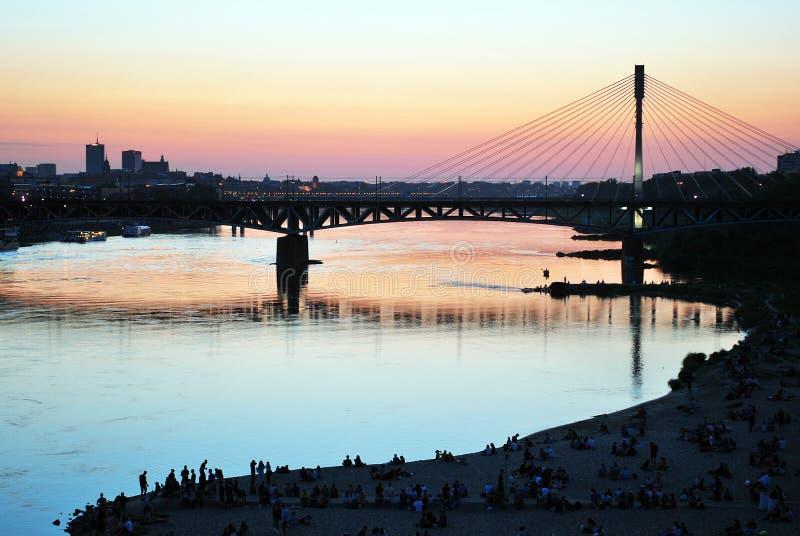 Река Висла стоковая фотография rf