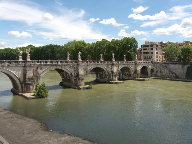 Река в Риме стоковые фотографии rf