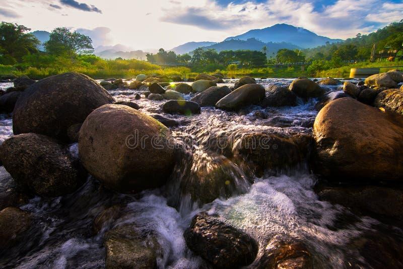 Река в Таиланде стоковая фотография rf