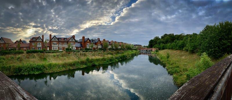 Река в Maidenhead стоковое фото rf