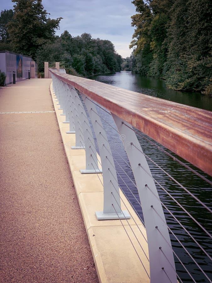 Река в Maidenhead стоковое изображение