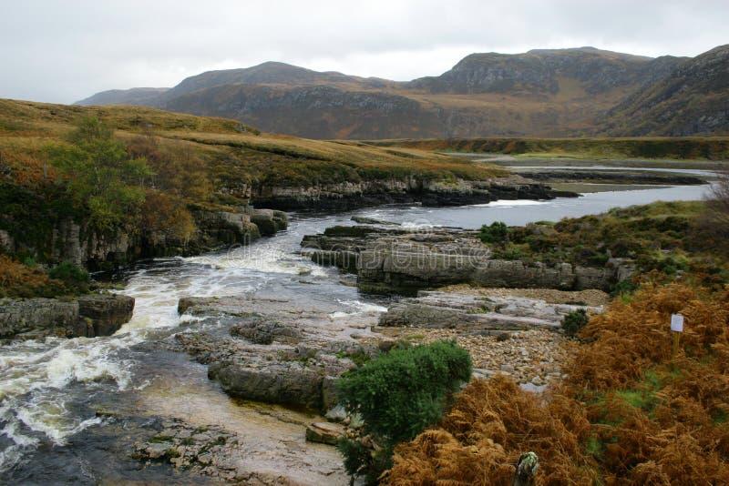 река гористых местностей стоковые изображения rf