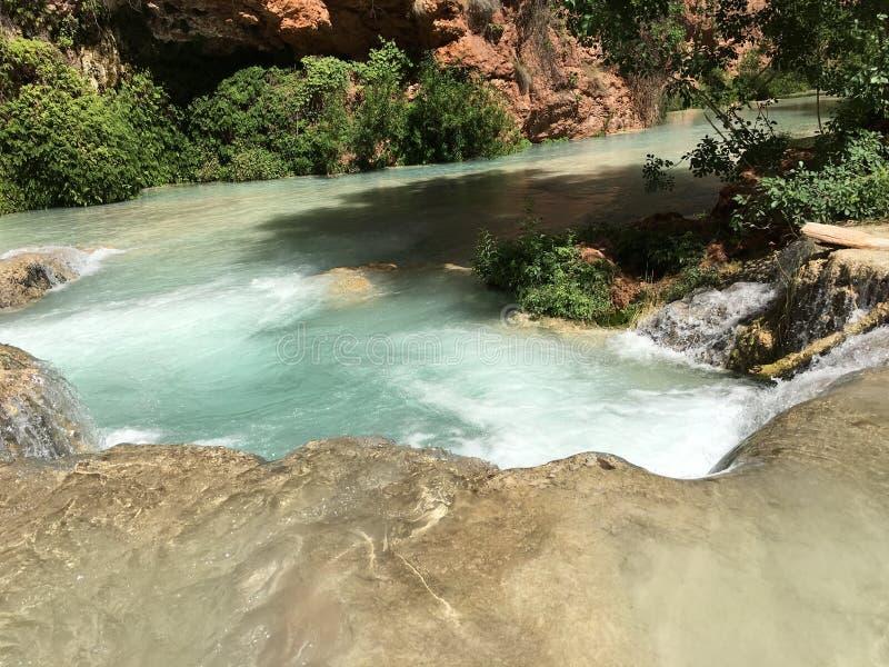 Река гранд-каньона стоковые фотографии rf