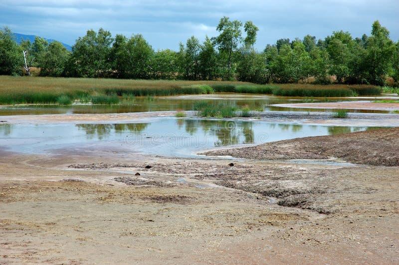 река земли стоковое изображение