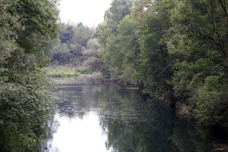 Река Изара в Баварии стоковые фото
