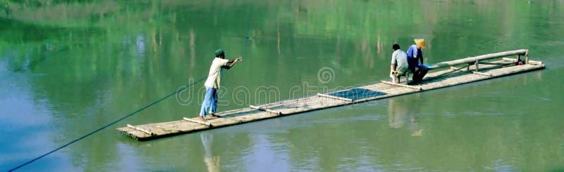 река Индонесии парома стоковое изображение rf