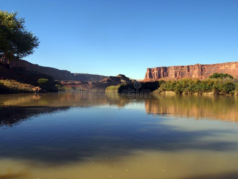 река каньона стоковое изображение rf