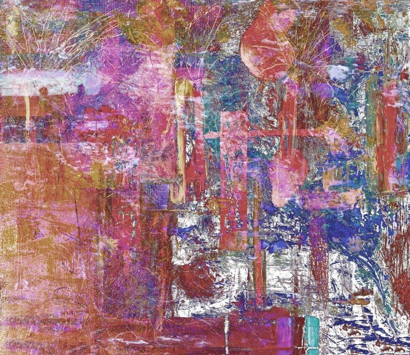 Download река картины маслом ландшафта пущи Стоковое Фото - изображение насчитывающей палитра, первоначально: 41654556