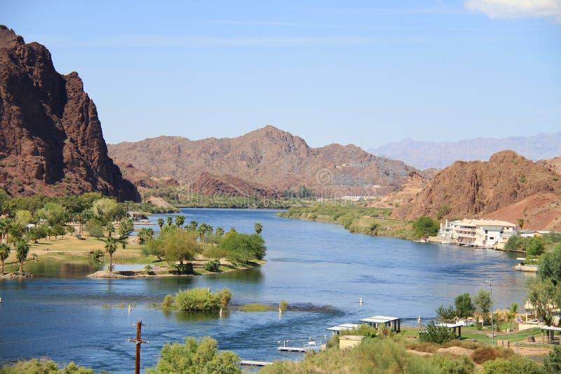 Река Колорадо: линия жизни стоковое фото rf