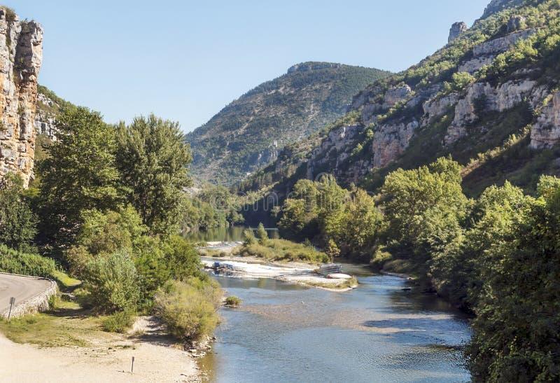 Река Ла Madele стоковое изображение rf