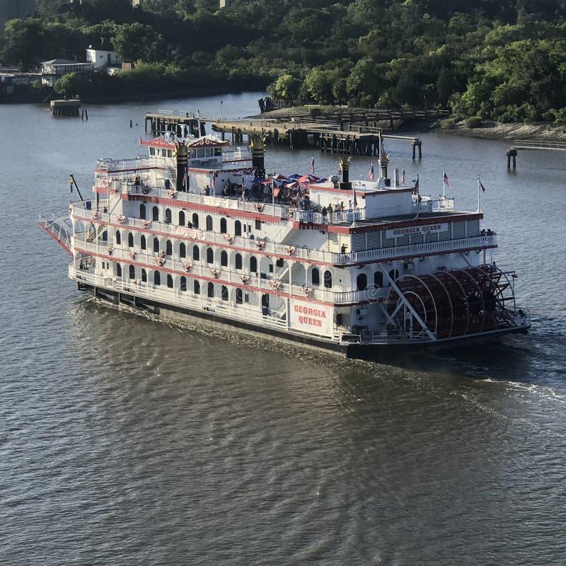 Река Миссисипи стоковое фото