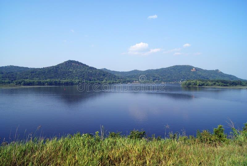река Миссиссипи стоковое фото rf