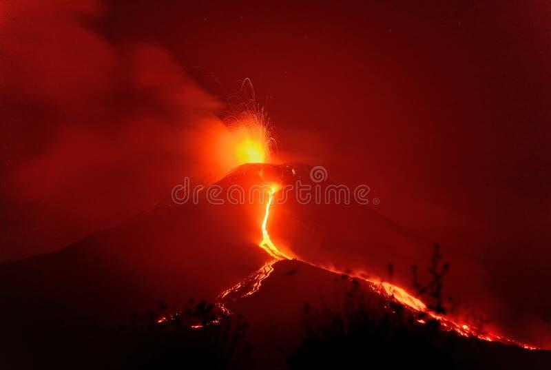 Река огня стоковое фото rf