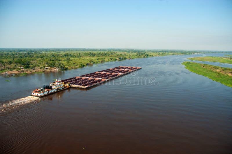 Река Парагвая стоковая фотография rf