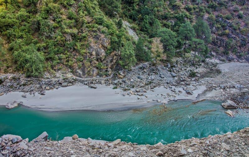 Река после потока стоковое изображение