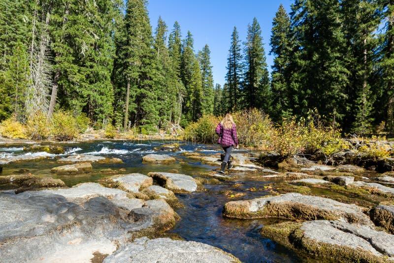 Река румян, Орегон стоковое изображение