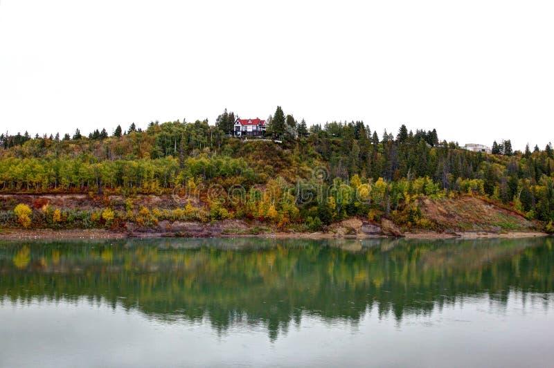 Река Саскачевана стоковое изображение