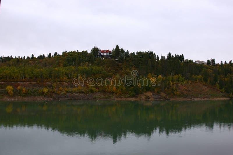Река Саскачевана стоковые фотографии rf