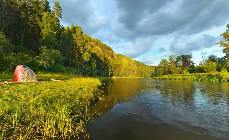 Река сена Россия, южное Ural стоковое фото rf